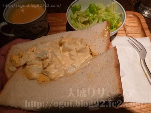 銀座アメリカンのタマゴサンドイッチセット049
