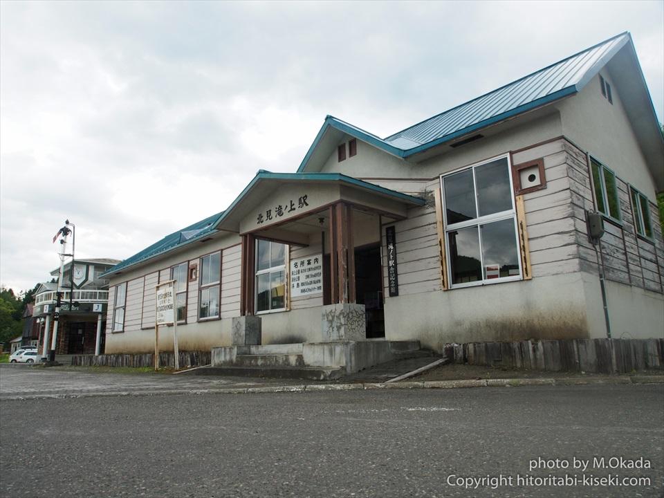 北見滝ノ上駅の木造駅舎