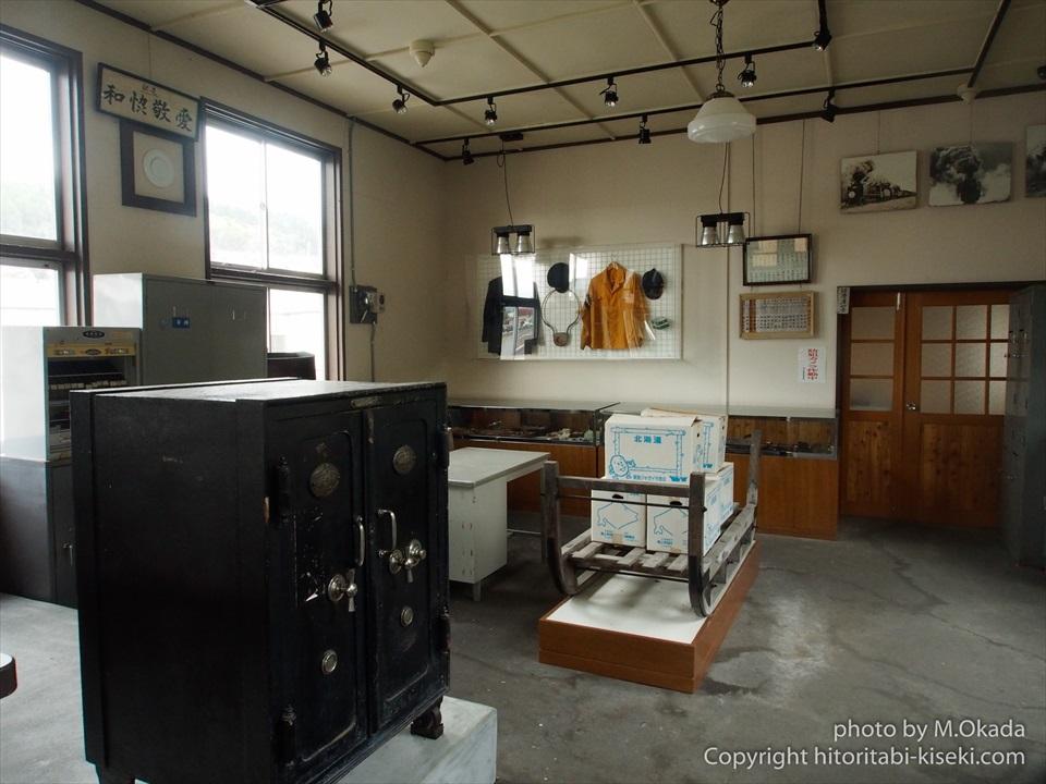 北見滝ノ上駅の駅員室