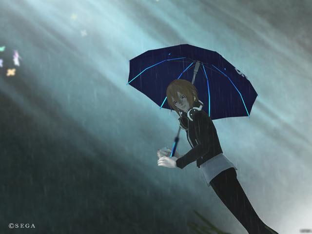 【PSO2】雨降り