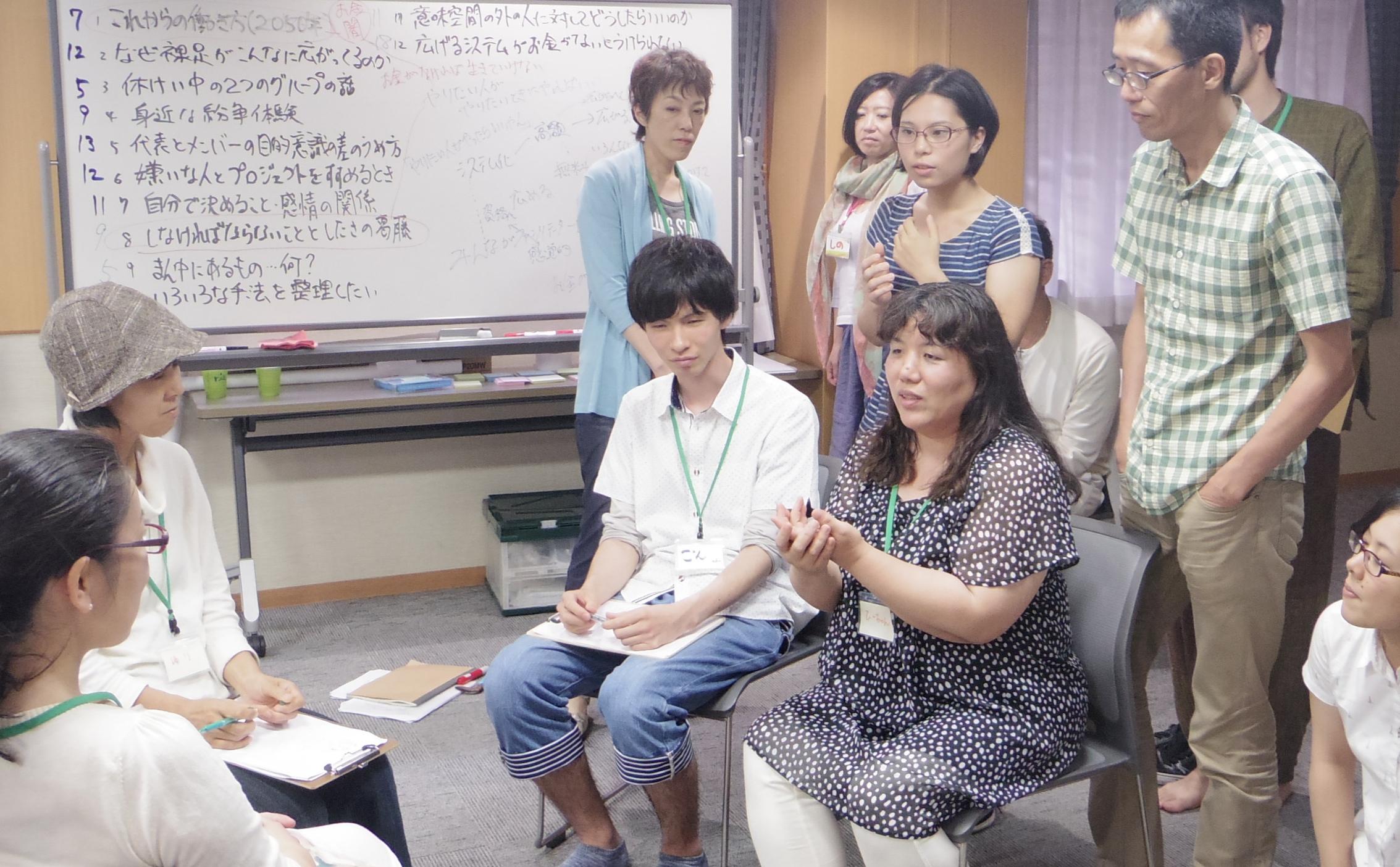 カレッジ15③ グループ