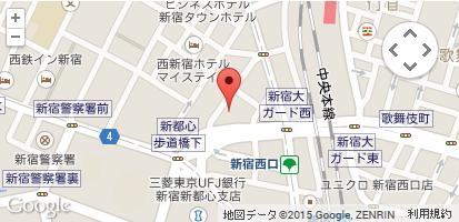 所在地 〒160-0023 東京都新宿区西新宿7-10-10