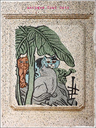 壁画 Mural ภาพจิตรกรรมฝาผนัง タイ・Thai・ไทย ワットポーメーン วัดโพธิ์แมนคุณาราม Bhoman Khunaram Temple 普門報恩寺