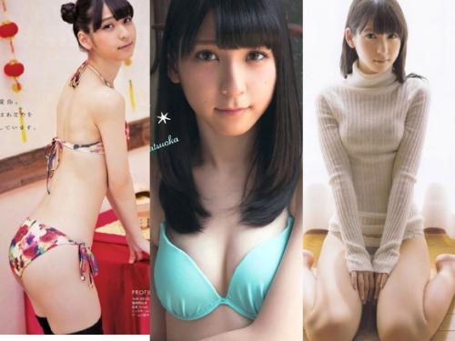 モチモチ美脚のJK美少女 HKT松岡菜摘(18)の画像×47