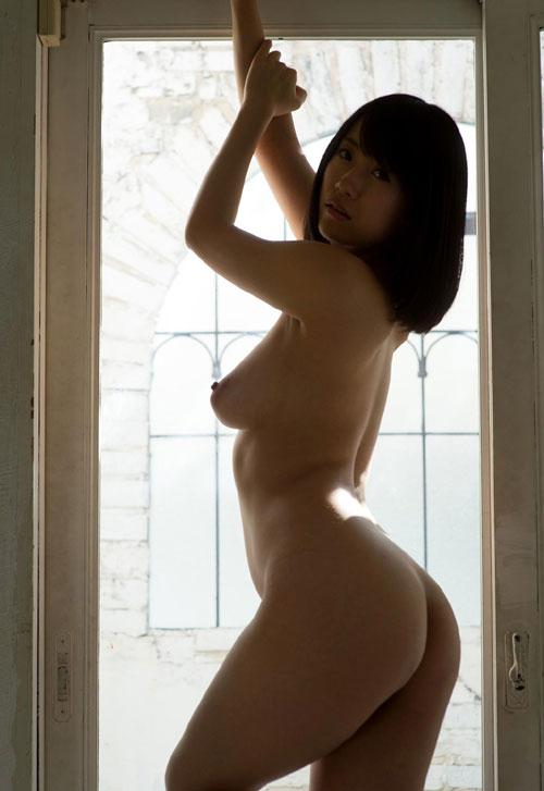 長瀬麻美の垂れ乳巨乳輪おっぱい30