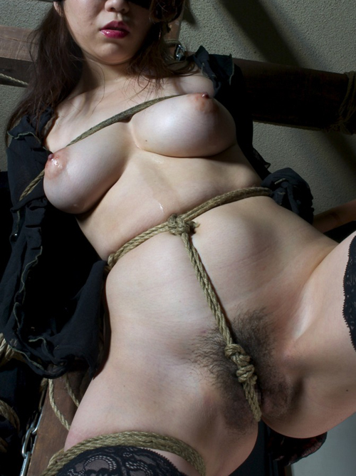 M嬢を縛り上げて肉便器に調教したい!