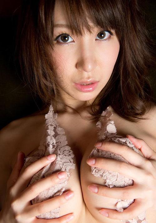 知花メイサの桃色巨乳輪おっぱい23