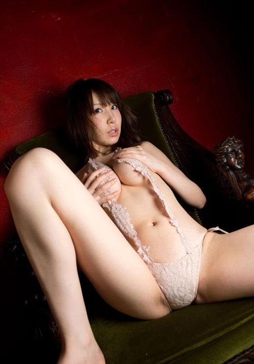 知花メイサの桃色巨乳輪おっぱい24