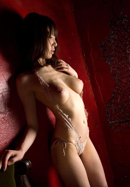 知花メイサの桃色巨乳輪おっぱい29