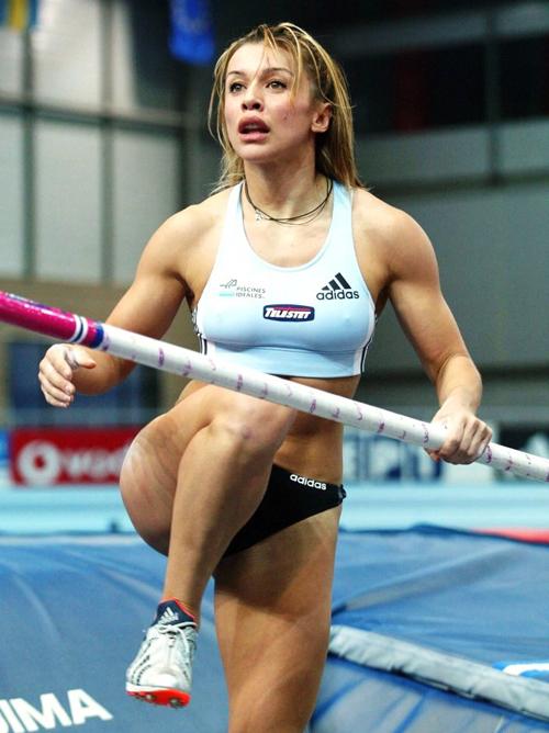 【アスリートエロ画像】外人選手の股間事故率がヤバイw最もエロいスポーツ女子陸上www