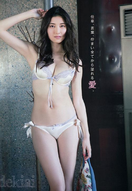 橋本マナミのGカップのおっぱい33