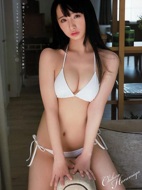 羽宮千皓 困り眉が可愛いSnowDropsメンバーの初グラビアおっぱい画像