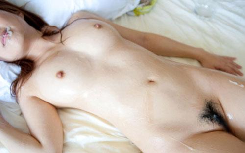 成瀬心美のヌルヌル巨乳おっぱい50