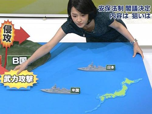 NHKアナウンサー鈴木奈穂子 胸チラ