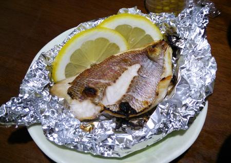 鯛は塩焼きさあ1507