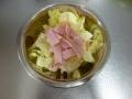 塩キャベツと甘夏のサラダ4