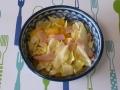 塩キャベツと甘夏のサラダ1