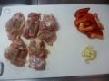 鶏肉とカボチャの洋風炒め3