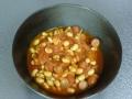 ウィンナーと大豆のトマト煮1