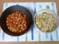 ウィンナーと大豆のトマト煮2