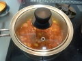 ウィンナーと大豆のトマト煮5