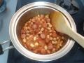 ウィンナーと大豆のトマト煮6