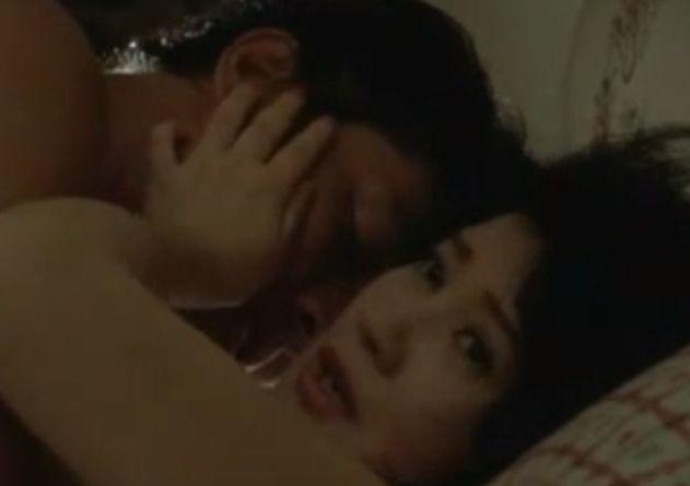 【三ツ矢歌子】肉体関係に及ぶラブシーン