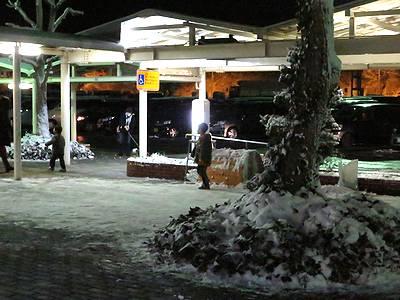 雪の小谷SA
