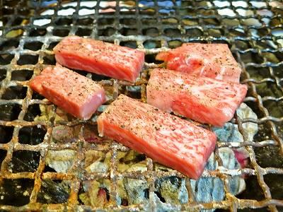 牛肉の炙り焼1
