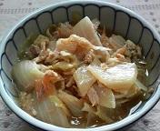 白菜の簡単煮