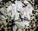 豚肉とレンコンの炒め物4