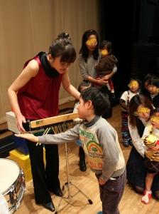 打楽器体験1