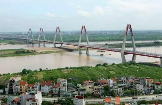 吊り橋ハノイ