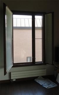 201506 木製サッシの塗り替え 窓全景