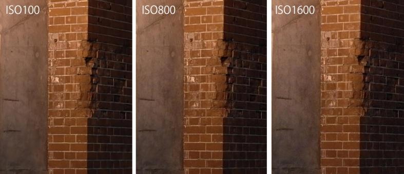 ライカX ISO解像度比較