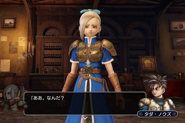 PS4 PS3 DRAGONQUEST HEROES ドラゴンクエストヒーローズ プレイ日記 ぱふぱふ 女勇者 メーア 画像 ルイーダの酒場