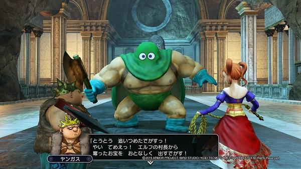 PS4 PS3 DRAGONQUEST HEROES ドラゴンクエストヒーローズ プレイ日記 画像 DLC 第2弾 ゼシカ ヤンガス ピサロ カンダタ ダウンロードコンテンツ