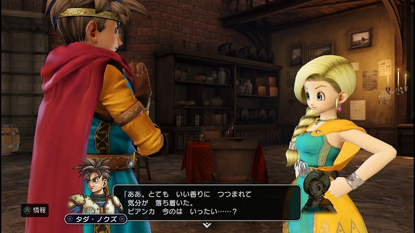 PS4 PS3 DRAGONQUEST HEROES プレイ日記 ドラゴンクエストヒーローズ ルイーダの酒場 ぱふぱふ ビアンカ