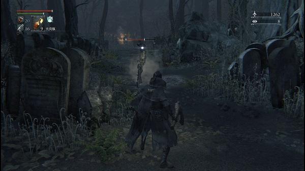 PS4 bloodbone ブラッドボーン プレイ日記 ヘムウィックの墓地街 敵が怖い
