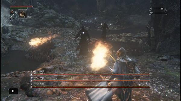 PS4 Bloodbone ブラッドボーン プレイ日記 プレイ動画 禁域の森 ヤーナムの影 ソロで攻略 大砲