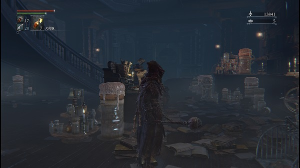 PS4 Bloodbone ブラッドボーン プレイ日記 ビルゲンワース 地下牢