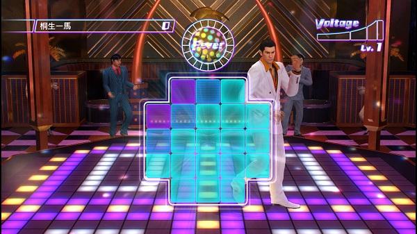 PS4 PS3 龍が如く0 誓いの場所 桐生一馬 ダンスゲーム ディスコ