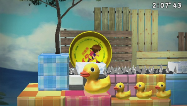 PSVITA PSVITATV さよなら 海腹川背 ちらり 4月23日発売 PlayStationVitaTV対応  横スクロールアクション