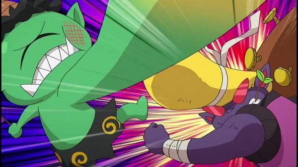 ゲームアニメ 妖怪ウォッチ えこひい鬼 アニ鬼