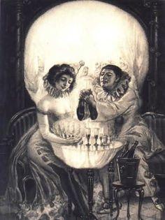 pierrot skull