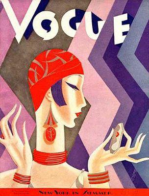 1920s fashion illustration - Art deco fashion posters_400