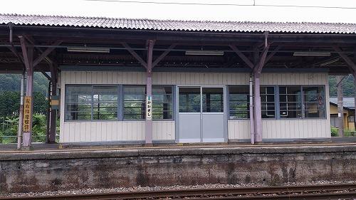 昔の珊瑚礁と今 中央本線 辰野支線 川岸駅