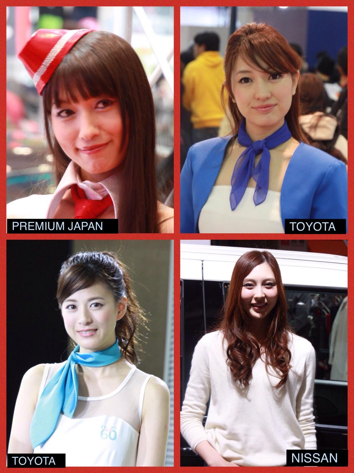 東京オートサロン2015 コンパニオンさん ベスト8