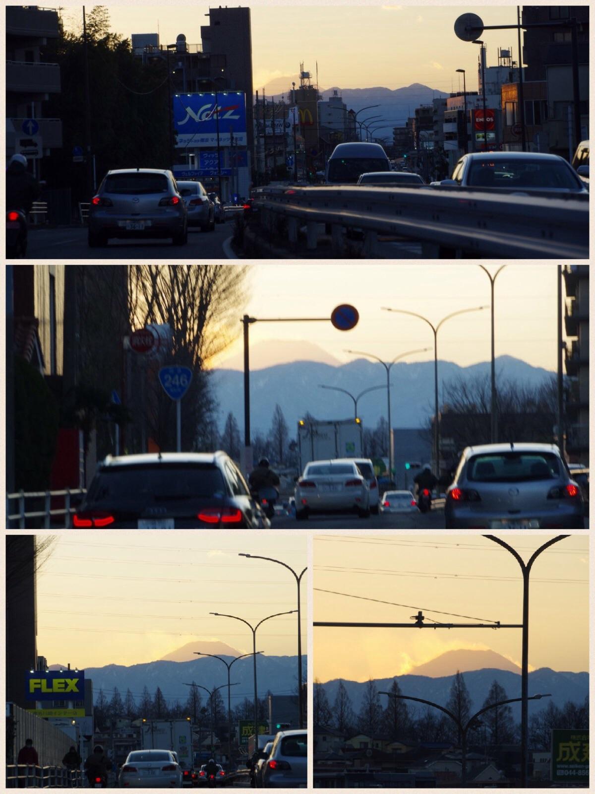 246から富士山