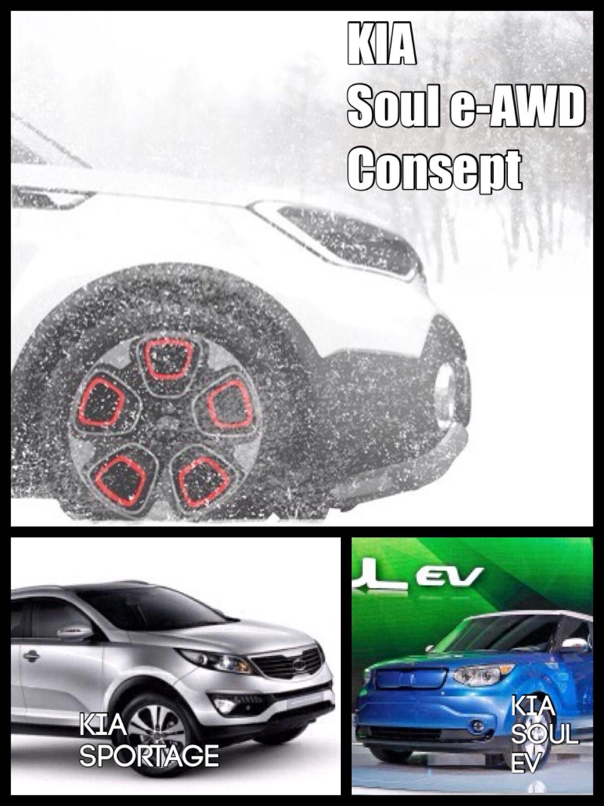 KIA e-AWD consept